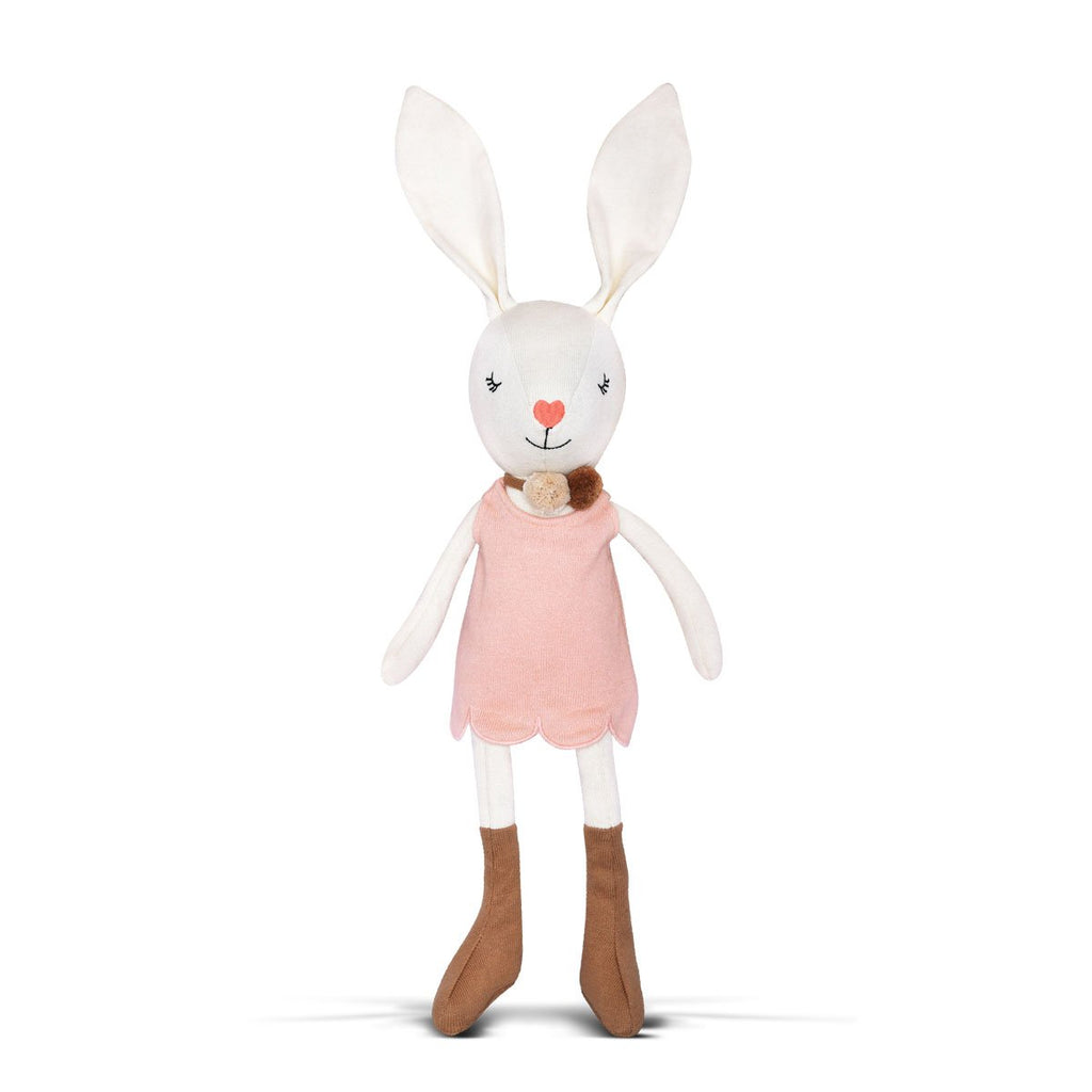 Apple Park Charlotte Organic Knit Bunny - Strive Organic