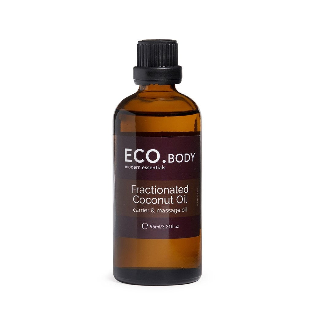 Eco Fractionated Coconut Carrier and Massage Oil 95ml - Strive Organic