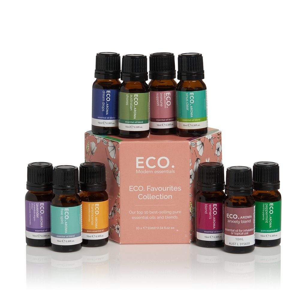 Eco Favourites Essential Oil Blends 10ml (10 Pack) - Strive Organic