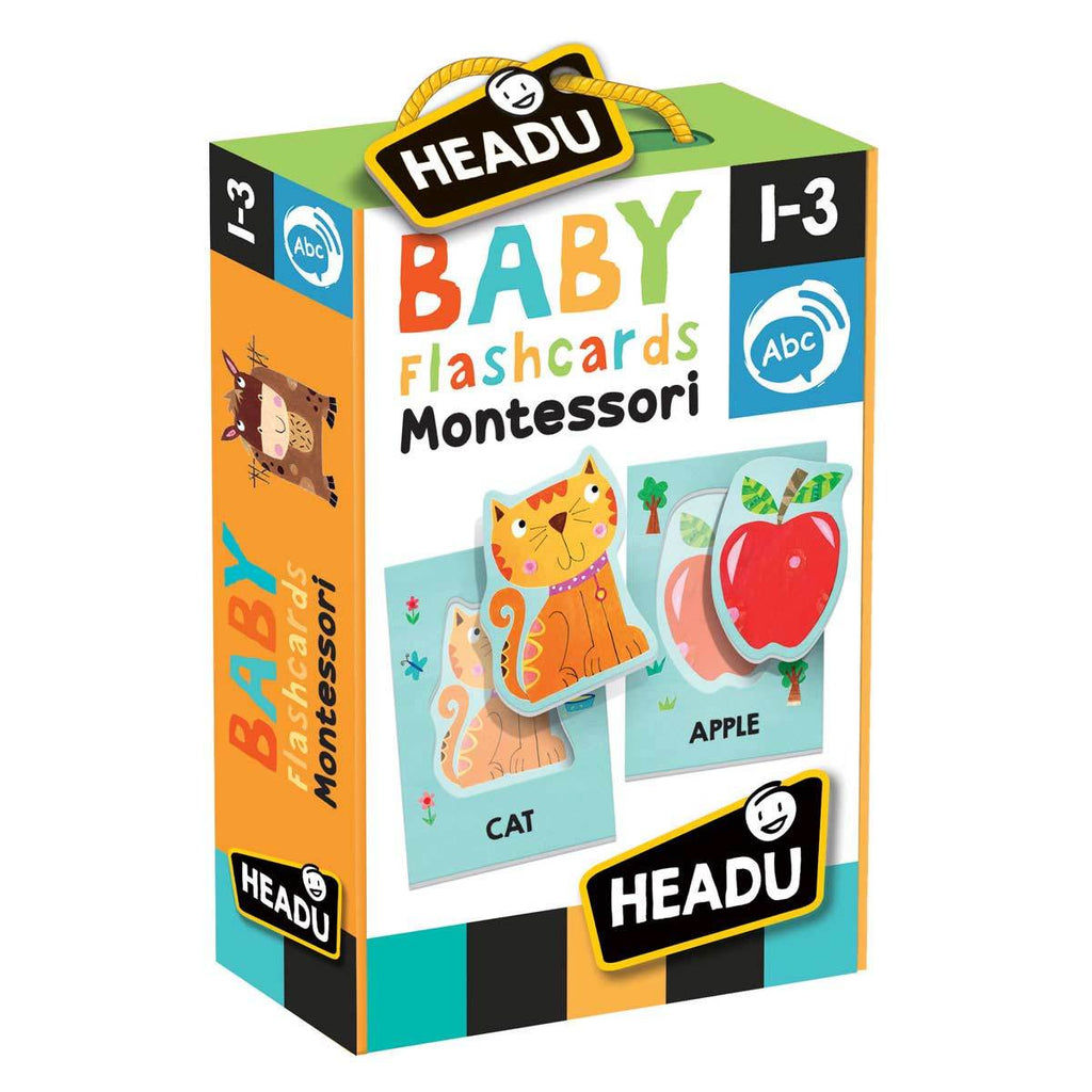 HEADU Montessori Baby Flashcards (Ages 1-3) - Strive Organic