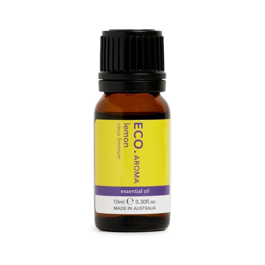 Eco Lemon Pure Essential Oil 10ml - Strive Organic