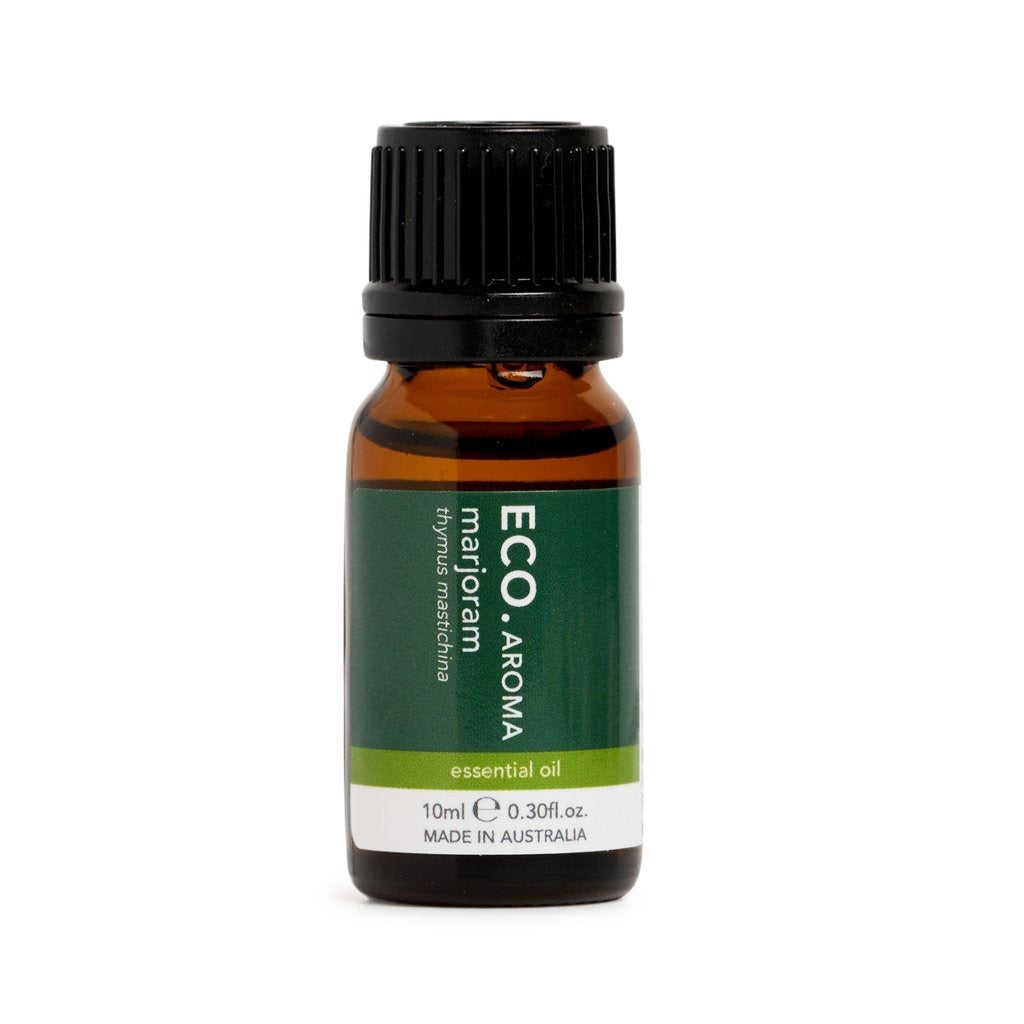 Eco Marjoram Pure Essential Oil 10ml - Strive Organic