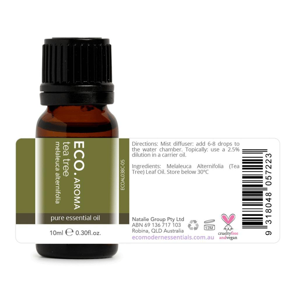 Eco Tea Tree Pure Essential Oil 10ml - Strive Organic