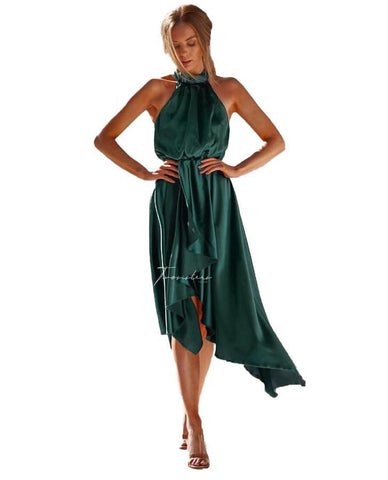 TwoSisters The Label Kathleen Dress In Emerald
