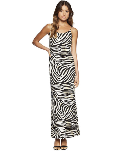 Bardot Zebra Print Dress