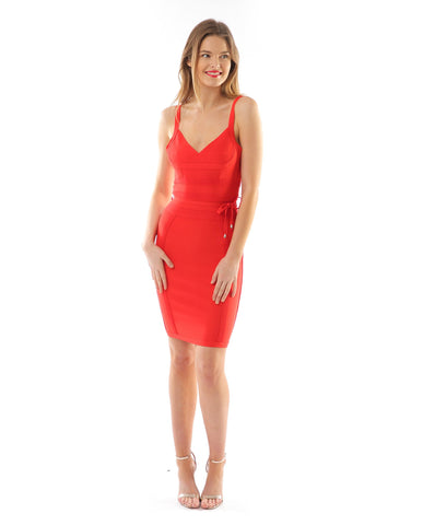Red Bodycon Dress