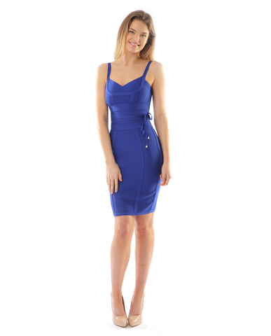Cobalt Blue Bodycon Dress