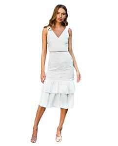 TwoSisters The Label White Izzy Dress