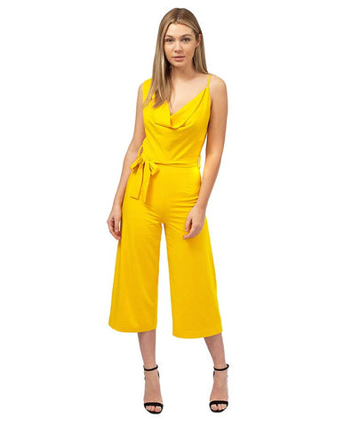 Lavish Alice Yellow Jumpsuit