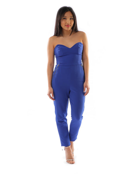 ASOS Bright Blue Jumpsuit