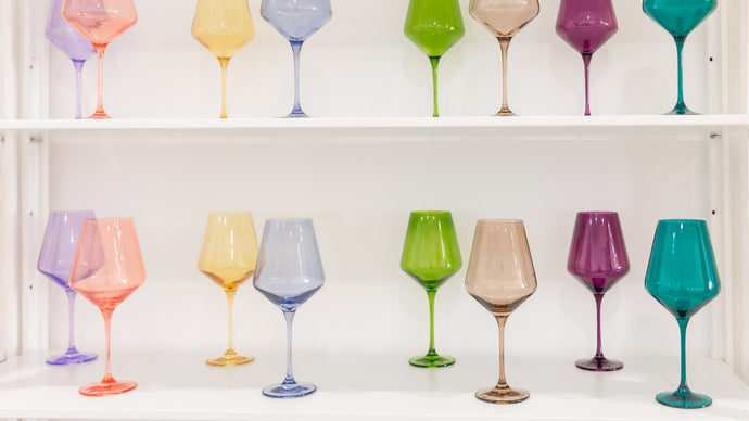 The Pastel Glassware You Need This Summer