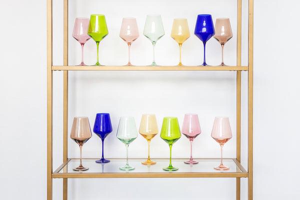 Estelle Colored Glass