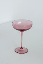 Load image into Gallery viewer, Estelle Colored Champagne Coupe Stemware - Set of 2 {Rose}
