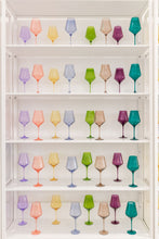 Load image into Gallery viewer, Estelle Colored Wine Stemware {Custom Set}