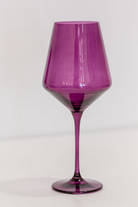 Estelle Colored Wine Stemware - Set of 6 {Custom Set}