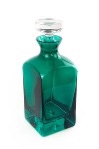 Estelle Colored Decanter {Emerald Green}