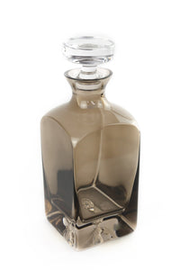 Estelle Colored Decanter {Gray Smoke}