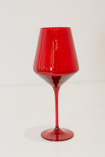 Load image into Gallery viewer, Estelle Colored Wine Stemware - Set of 6 {Red}