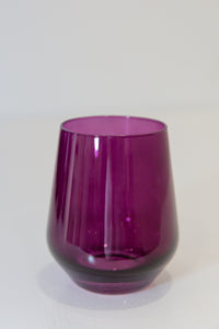 Estelle Colored Wine Stemless - Set of 6 {Custom Set}