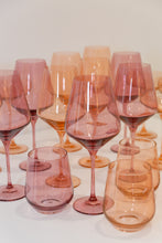 Load image into Gallery viewer, Estelle Colored Wine Stemware - Set of 6 {Rose}