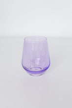 Load image into Gallery viewer, Estelle Colored Wine Stemless - Set of 6 {Lavender}