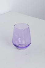 Load image into Gallery viewer, Estelle Colored Wine Stemless - Set of 2 {Lavender}