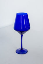 Load image into Gallery viewer, Estelle Colored Wine Stemware - Set of 2 {Royal Blue}