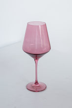 Load image into Gallery viewer, Estelle Colored Wine Stemware - Set of 2 {Rose}