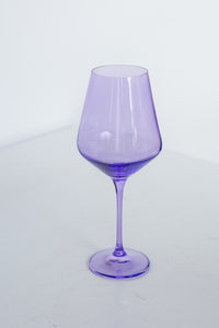 Estelle Colored Wine Stemware - Set of 6 {Lavender}