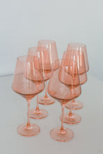Load image into Gallery viewer, Estelle Colored Wine Stemware - Set of 6 {Blush Pink}