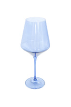 Load image into Gallery viewer, Estelle Colored Wine Stemware - Set of 2 {Cobalt Blue}