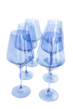 Load image into Gallery viewer, Estelle Colored Wine Stemware - Set of 6 {Cobalt Blue}