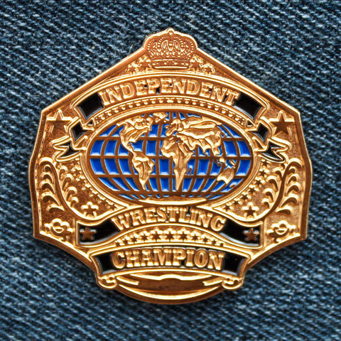 IWTV Independent Wrestling Title Pin