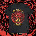 "Alpha-1 ""Alpha Male Lion"" T-Shirt"