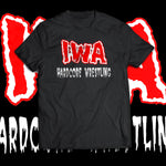 "IWA Mid-South ""Hardcore Wrestling Since 97"" Dark T-Shirt"