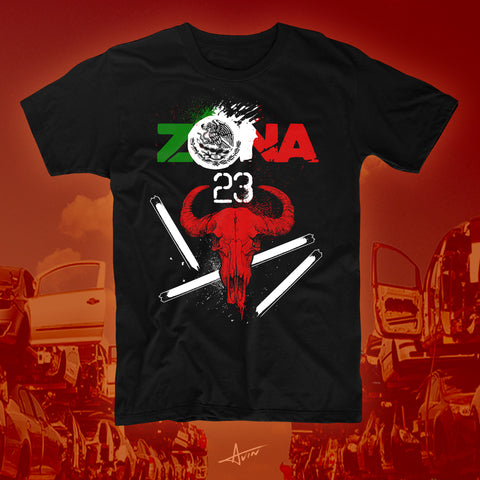 "Zona 23 ""Desert of Death"" Soft T-Shirt"