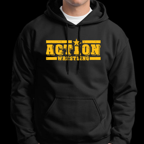 "ACTION Wrestling ""Logo"" Pullover Hoodie"