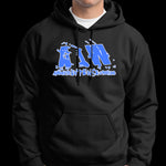 "Absolute Intense Wrestling ""Blue Logo"" Pullover Hoodie"