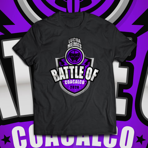"Lucha Memes ""Battle of Coacalco"" Soft T-Shirt"