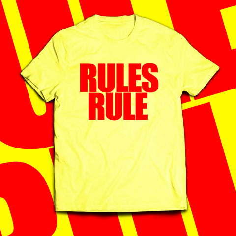 "BEYOND ""Rules Rule"" Promoter T-Shirt"