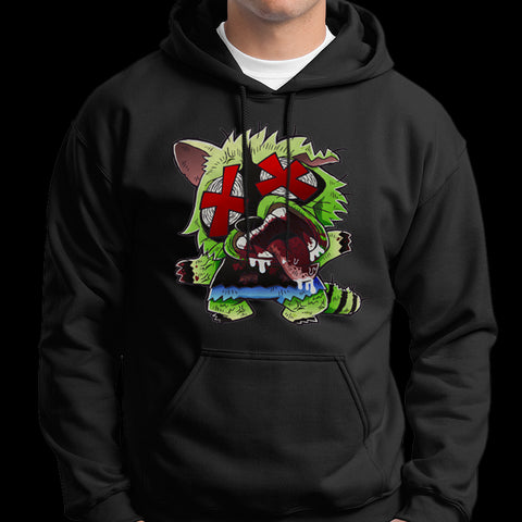 "Inter Species Wrestling ""Roadkill Reanimated"" Pullover Hoodie"