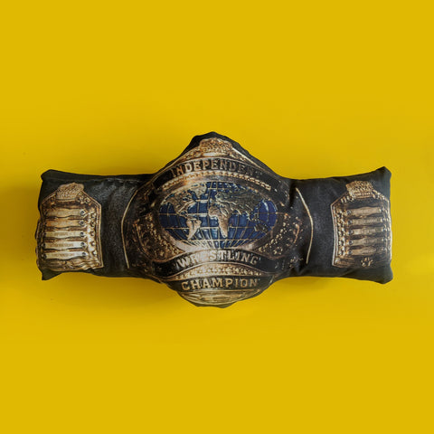 IWTV Independent Wrestling Championship Pillow