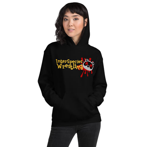 "Inter Species Wrestling ""Roadkill Crossing"" Pullover Hoodie"