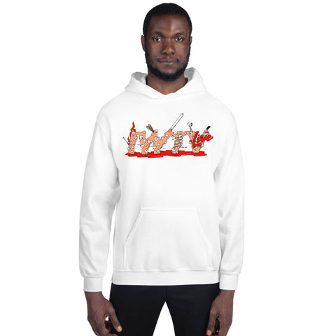 "IWTV ""Deathmatch Monsters"" Hoodie (Multi-Colors)"