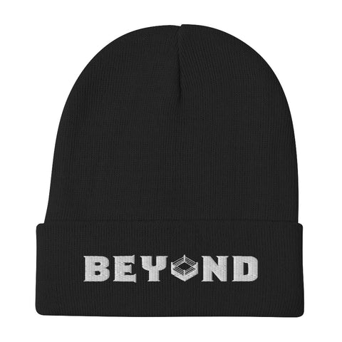 "Beyond Wrestling ""BEY◇ND"" Logo Embroidered Beanie"
