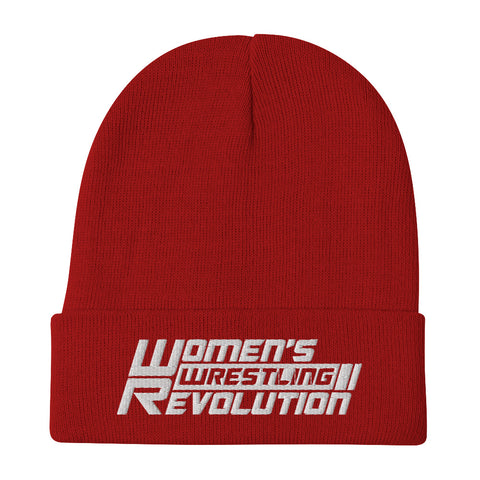 Women's Wrestling Revolution Embroidered Beanie