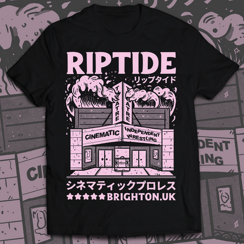 RIPTIDE Cinematic Wrestling Theatre T-Shirt