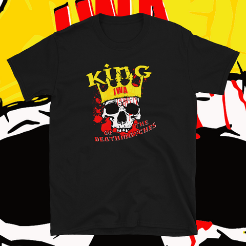 "IWA Mid-South ""King Of The Deathmatches"" Soft T-Shirt"