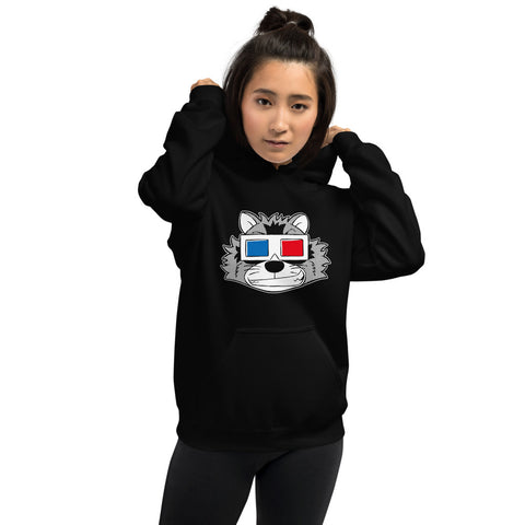 "Inter Species Wrestling ""3D"" Pullover Hoodie"