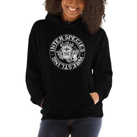 "Inter Species Wrestling ""Look Out Below"" Pullover Hoodie"